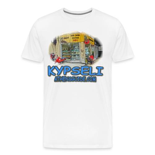 Kypseli Nut Shop (men) - Men's Premium T-Shirt