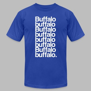 Buffalo buffalo Buffalo buffalo buffalo buffalo Buffalo buffalo - Men's Fine Jersey T-Shirt
