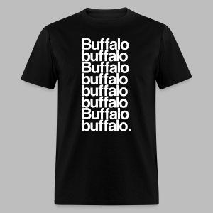 Buffalo buffalo Buffalo buffalo buffalo buffalo Buffalo buffalo - Men's T-Shirt
