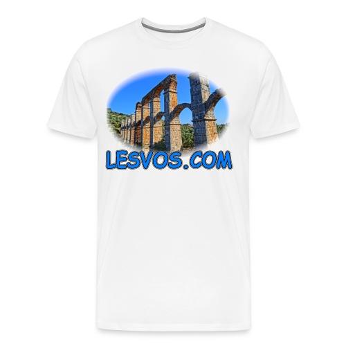 Lesvos Aquaduct (men) - Men's Premium T-Shirt