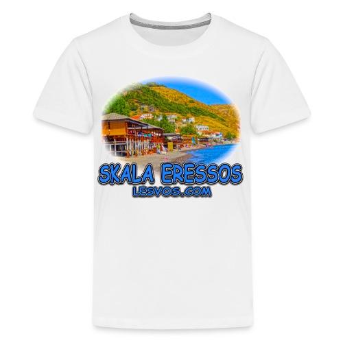 Lesvos Skala Eressos 1b (kids) - Kids' Premium T-Shirt