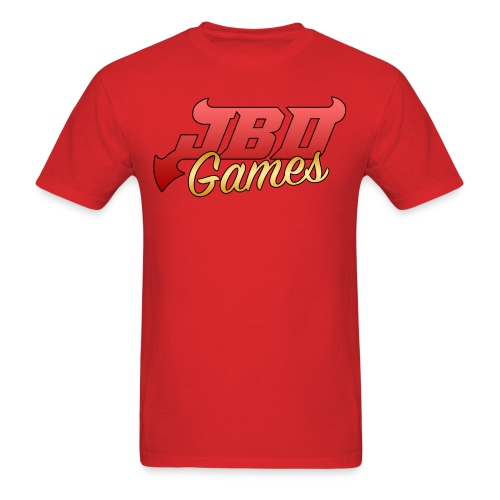 JBDgames Gold Logo T-Shirt - Men's T-Shirt