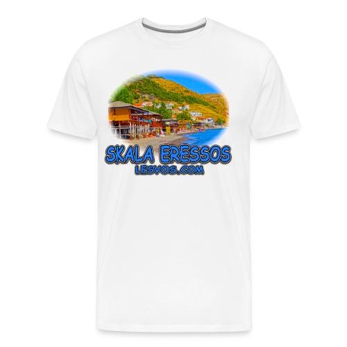 Lesvos Skala Eressos 1b (men) - Men's Premium T-Shirt