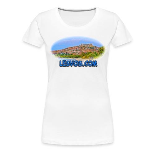 Lesvos.com (women) - Women's Premium T-Shirt