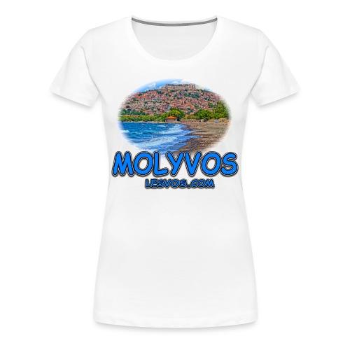 Lesvos Molyvos Blue (women) - Women's Premium T-Shirt