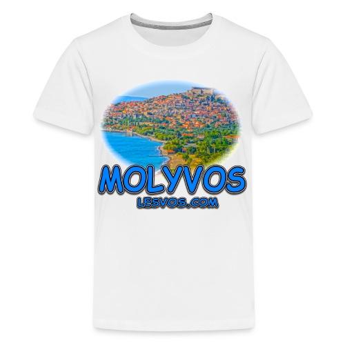Lesvos Molyvos 2 Blue (kids) - Kids' Premium T-Shirt