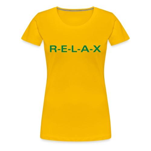 Relax Tee - Women's Premium T-Shirt