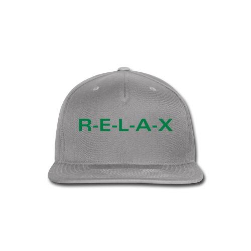 Relax hat - Snap-back Baseball Cap