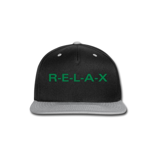Relax hat - Snap-back Baseball Cap