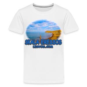 Lesvos Skala Eressos 2 (kids) - Kids' Premium T-Shirt