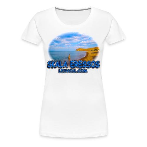 Lesvos Skala Eressos 2 (women) - Women's Premium T-Shirt