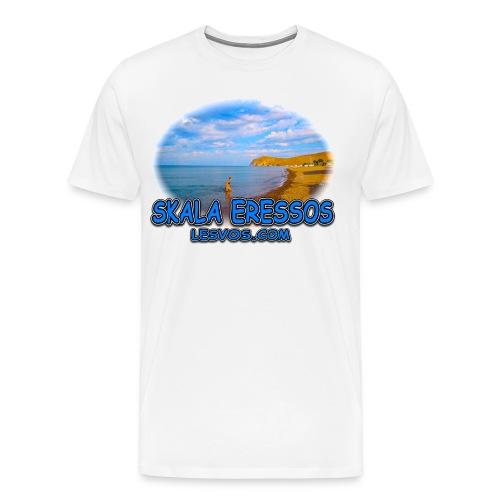 Lesvos Skala Eressos 2 (men) - Men's Premium T-Shirt