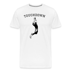 Football Touchdown - Men's Premium T-Shirt