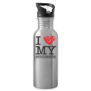 I Love My Students - Water Bottle