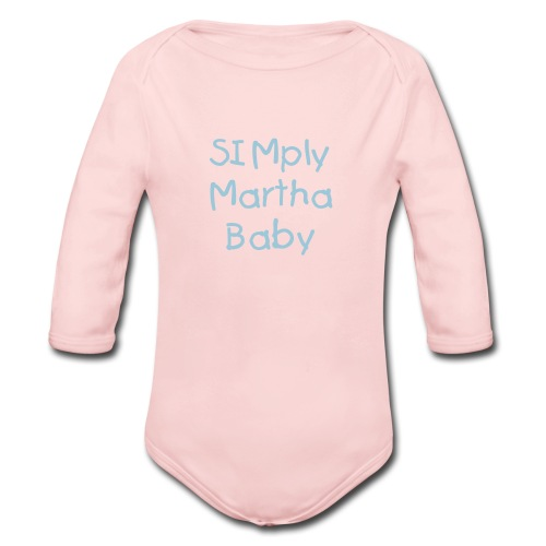 SIMply Martha For Babies - Organic Long Sleeve Baby Bodysuit