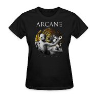 T-Shirts ~ Women's T-Shirt ~ 'Known' (Black, Ladies)