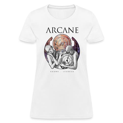 'Learned' (White, Ladies) - Women's T-Shirt