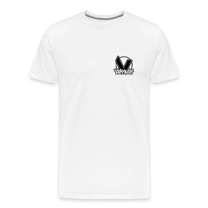 Vandalism Records T-Shirt - White - Men's Premium T-Shirt