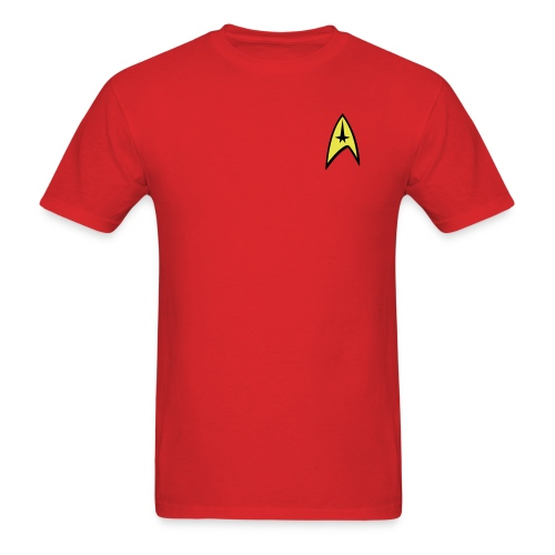 Star Trek Red Shirt - Men's T-Shirt