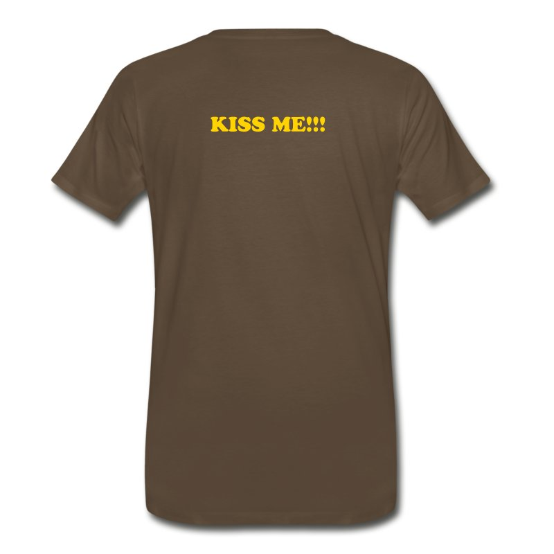 T-Shirt: KISS ME!!! - Men's Premium T-Shirt