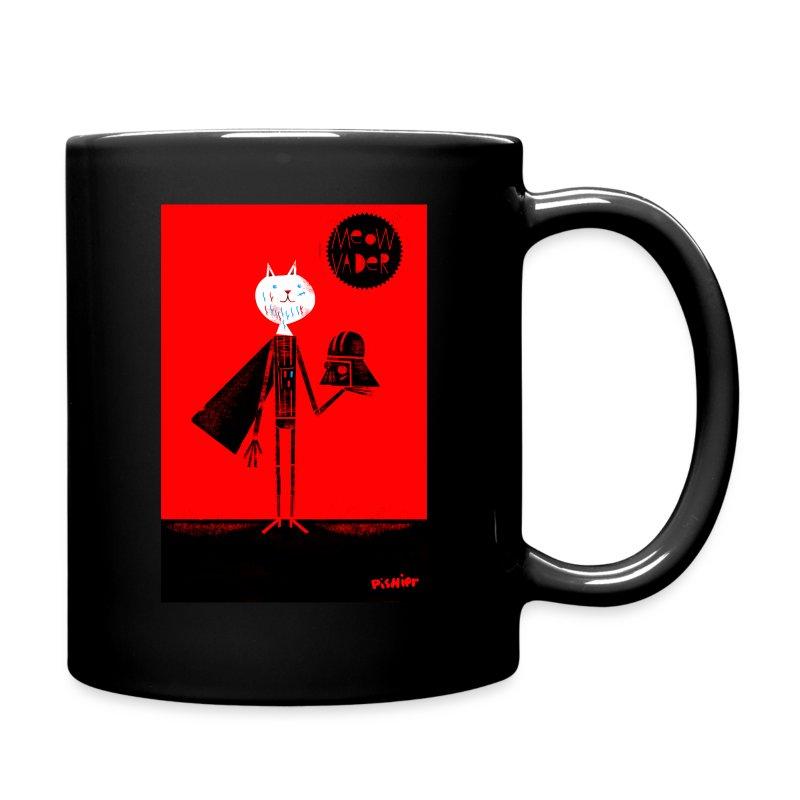 meow vader - Full Color Mug