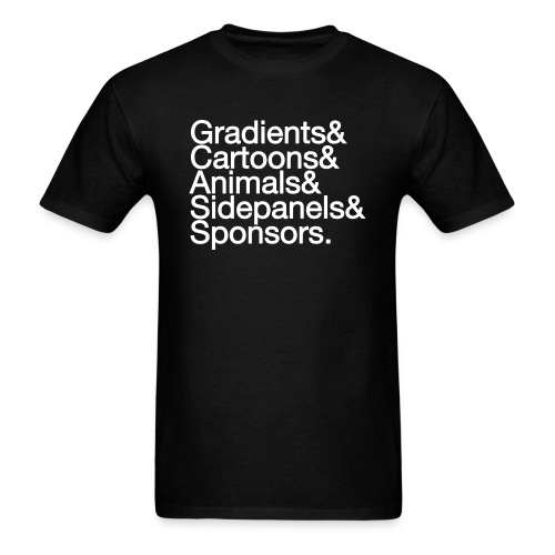 Ampersand T-shirt - Men's T-Shirt