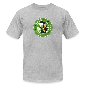 Men's Shirt with Logo - Men's Fine Jersey T-Shirt