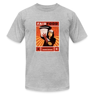 Men's Shirt with Poster Art - Men's T-Shirt by American Apparel