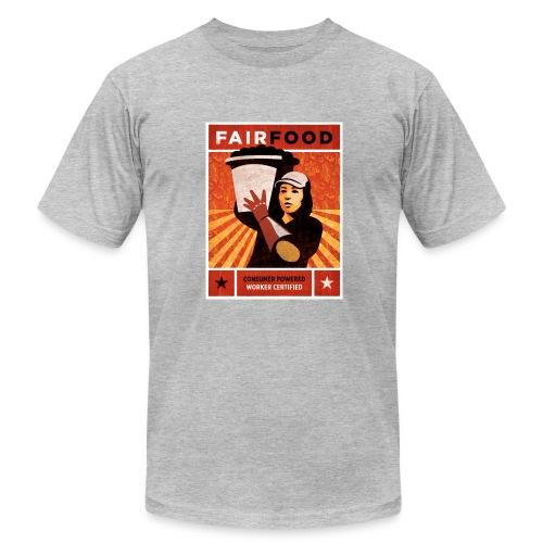 Men's Shirt with Poster Art - Men's Fine Jersey T-Shirt