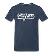 T-Shirts ~ Men's Premium T-Shirt ~ vegan - simply vegan !