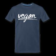 T-Shirts ~ Men's Premium T-Shirt ~ vegan - simply vegan !