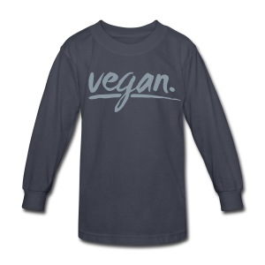 vegan - simply vegan ! - Kids' Long Sleeve T-Shirt