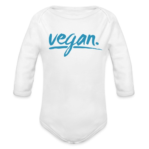 vegan - simply vegan ! - Organic Long Sleeve Baby Bodysuit