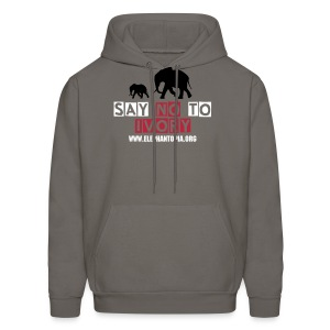 March for Elephants - Men's Hoodie