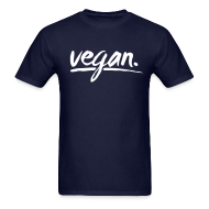 T-Shirts ~ Men's T-Shirt ~ vegan - simply vegan !
