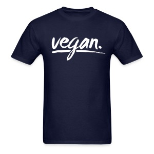 vegan - simply vegan ! - Men's T-Shirt