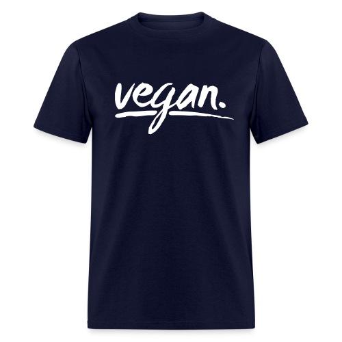vegan - simply vegan ! - Men's T-Shirt