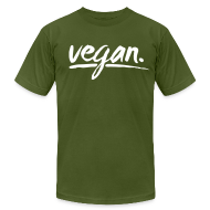 T-Shirts ~ Men's T-Shirt by American Apparel ~ vegan - simply vegan !