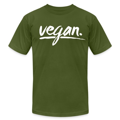vegan - simply vegan ! - Men's Fine Jersey T-Shirt