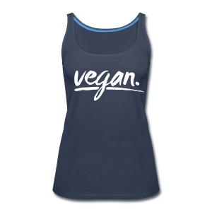 vegan - simply vegan ! - Women's Premium Tank Top