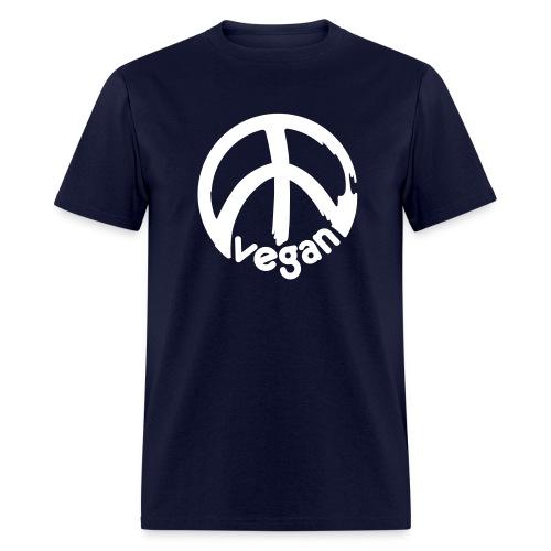 VEGAN Peace *** - Men's T-Shirt