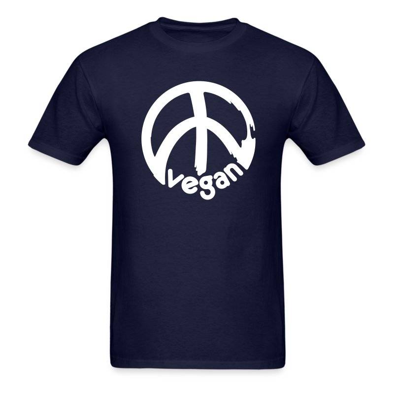 VEGAN Peace *** - Men's T-Shirt