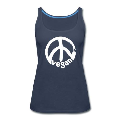 VEGAN Peace *** - Women's Premium Tank Top