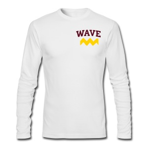 WAVE long sleeve - Men's Long Sleeve T-Shirt by Next Level