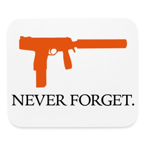 Never Forget (TMP) Mousepad - Mouse pad Horizontal