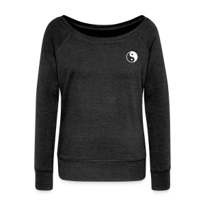 #WavyyGang Long sleeve - Women's Wideneck Sweatshirt