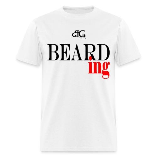 Beard Gains Bearding Tee - Men's T-Shirt