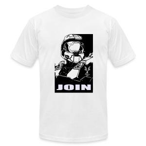 JOIN SPARTAN - Men's Fine Jersey T-Shirt