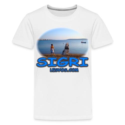 Lesvos-Sigri (kids) - Kids' Premium T-Shirt