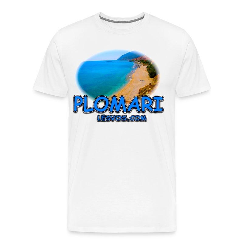 Lesvos Plomari (men) - Men's Premium T-Shirt